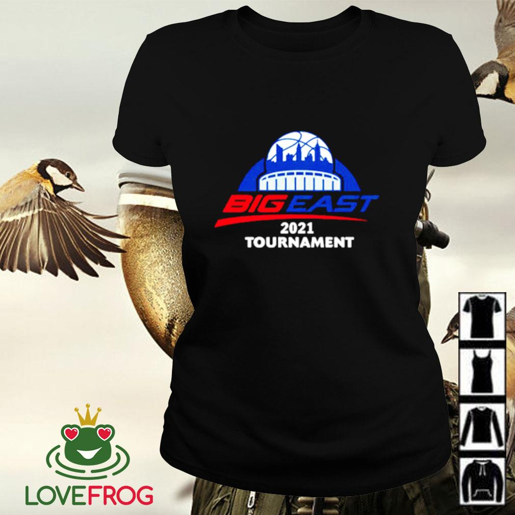 2021 Big East men's basketball tournament Ladies-tee