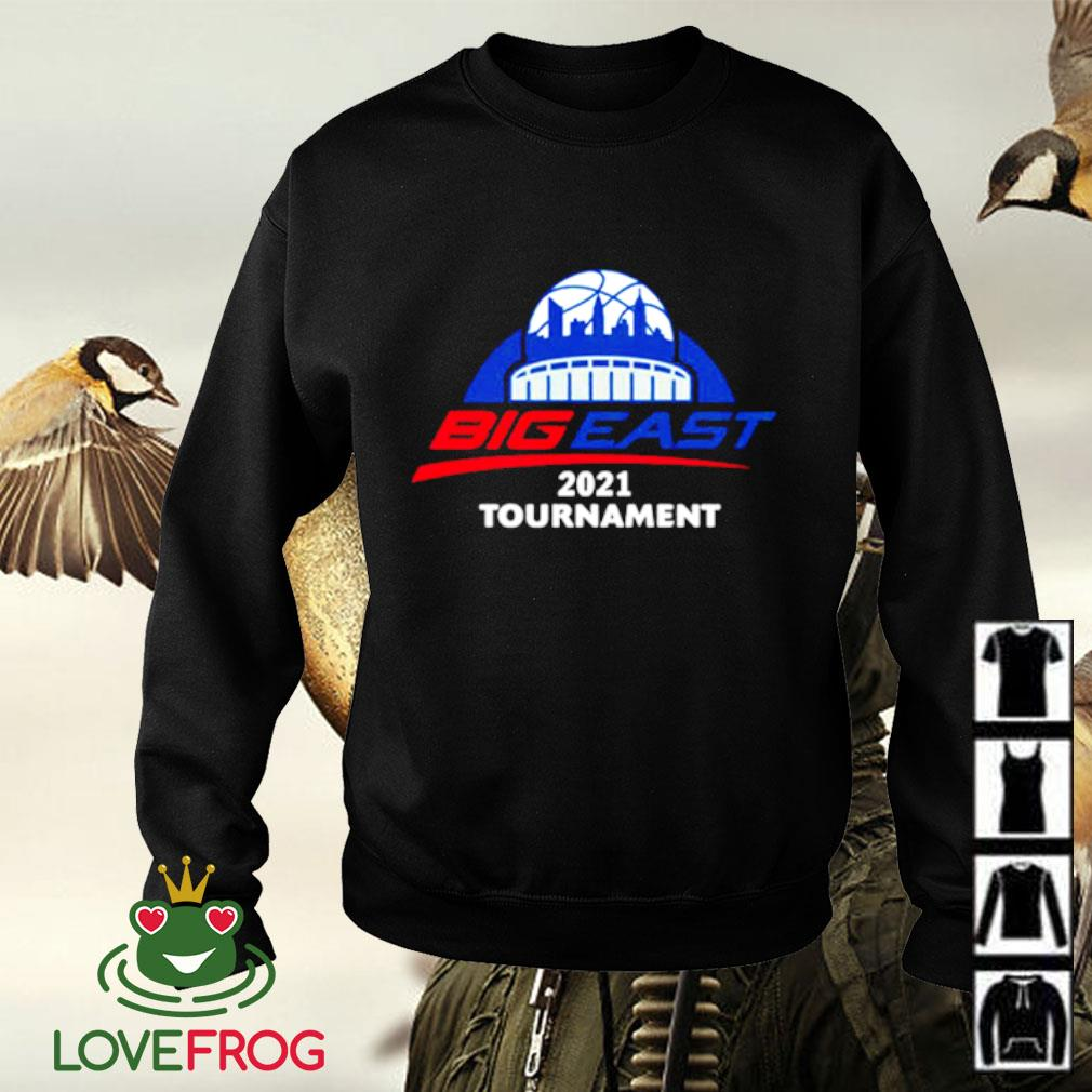 2021 Big East men's basketball tournament Sweater