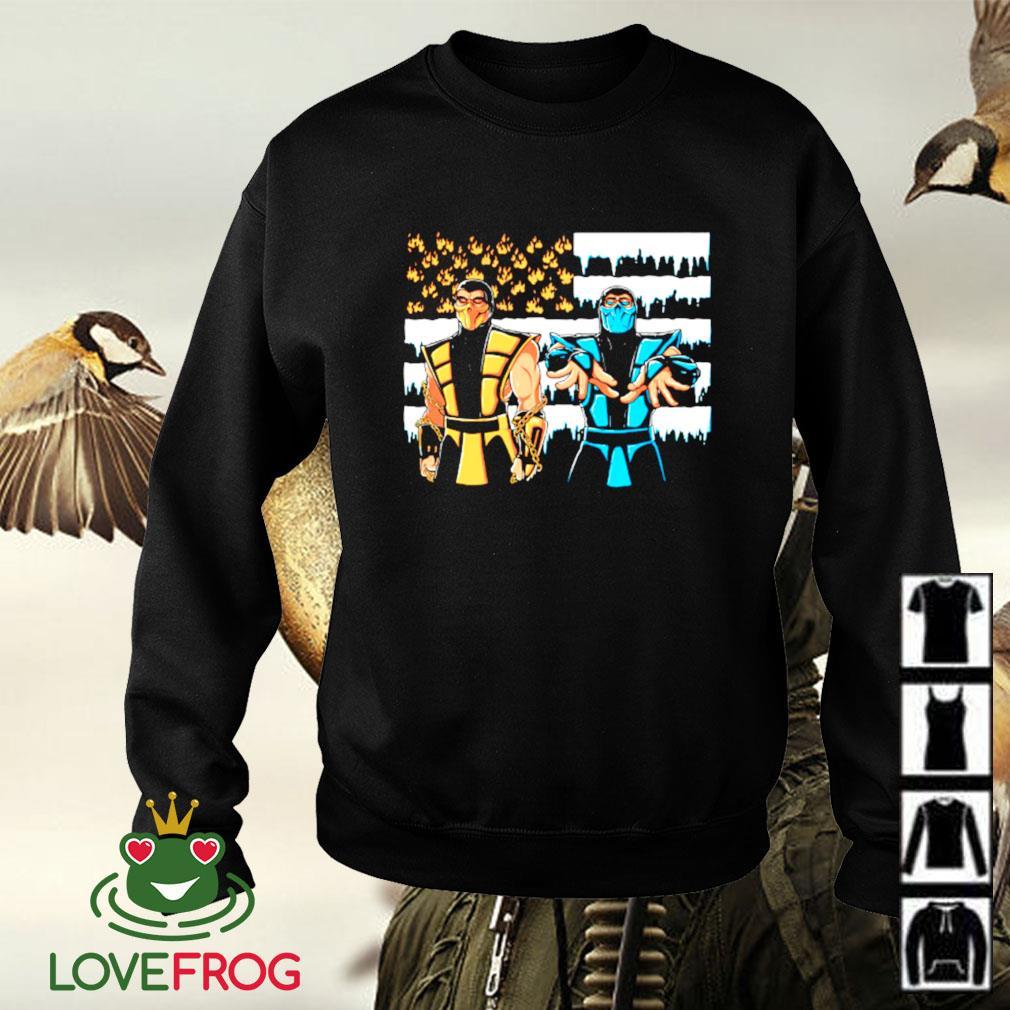 Black Dragonia Mortal Kombat Sweater