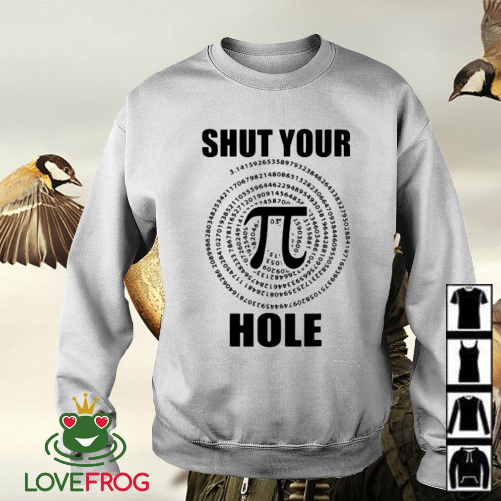 Math shut your Pi hole Sweater