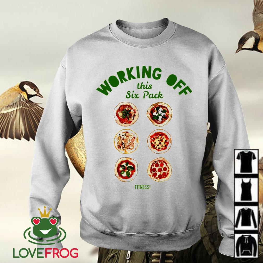 Pizza working off this six pack Sweater