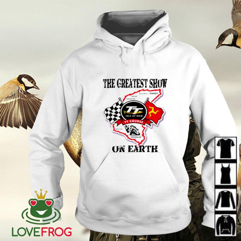 Racing the greatest show on earth Hoodie