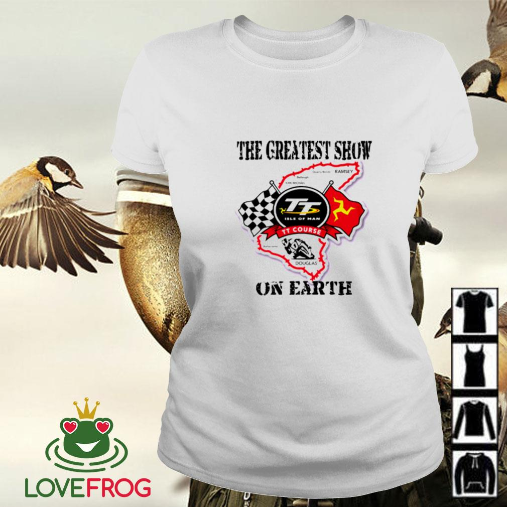 Racing the greatest show on earth Ladies-tee