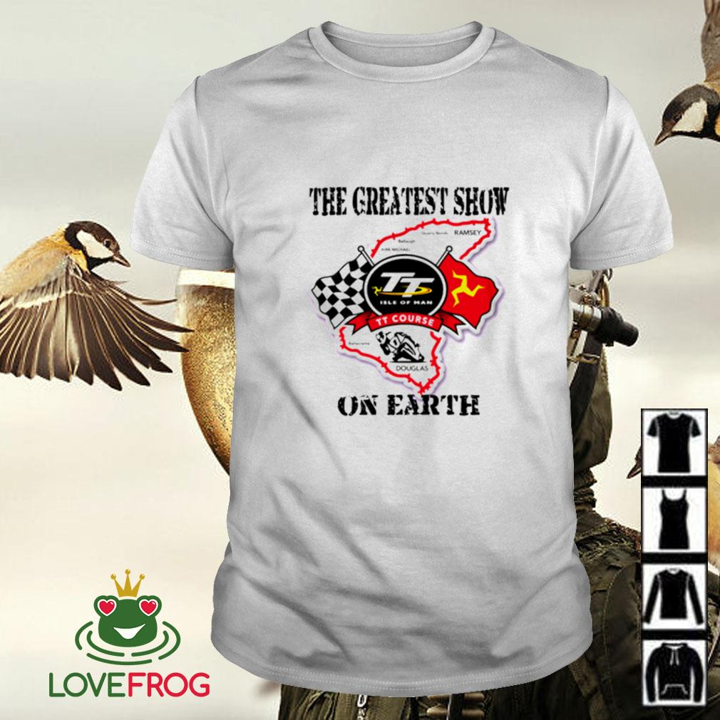 Racing the greatest show on earth shirt