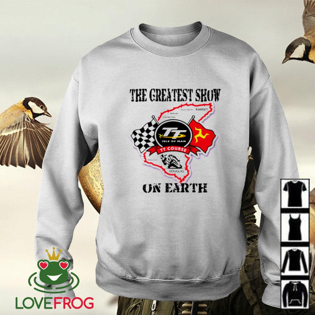 Racing the greatest show on earth Sweater