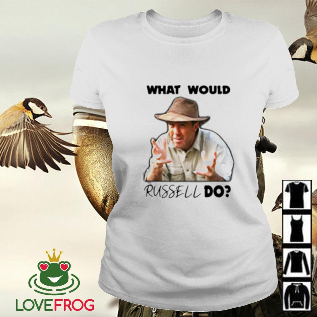 Russell Coight What would russell do Ladies-tee