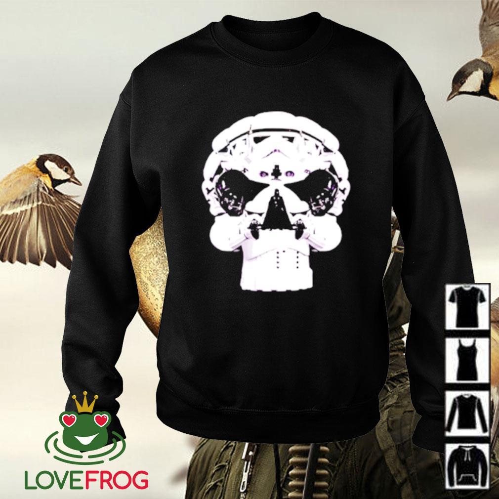Star Wars Skull Stormtrooper Helmet Darth Vader Sweater