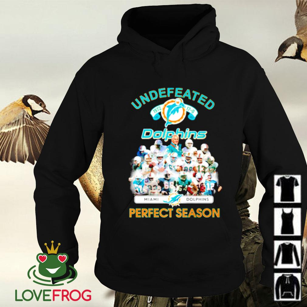 Undefeated Miami Dolphins 1972 perfect season Hoodie