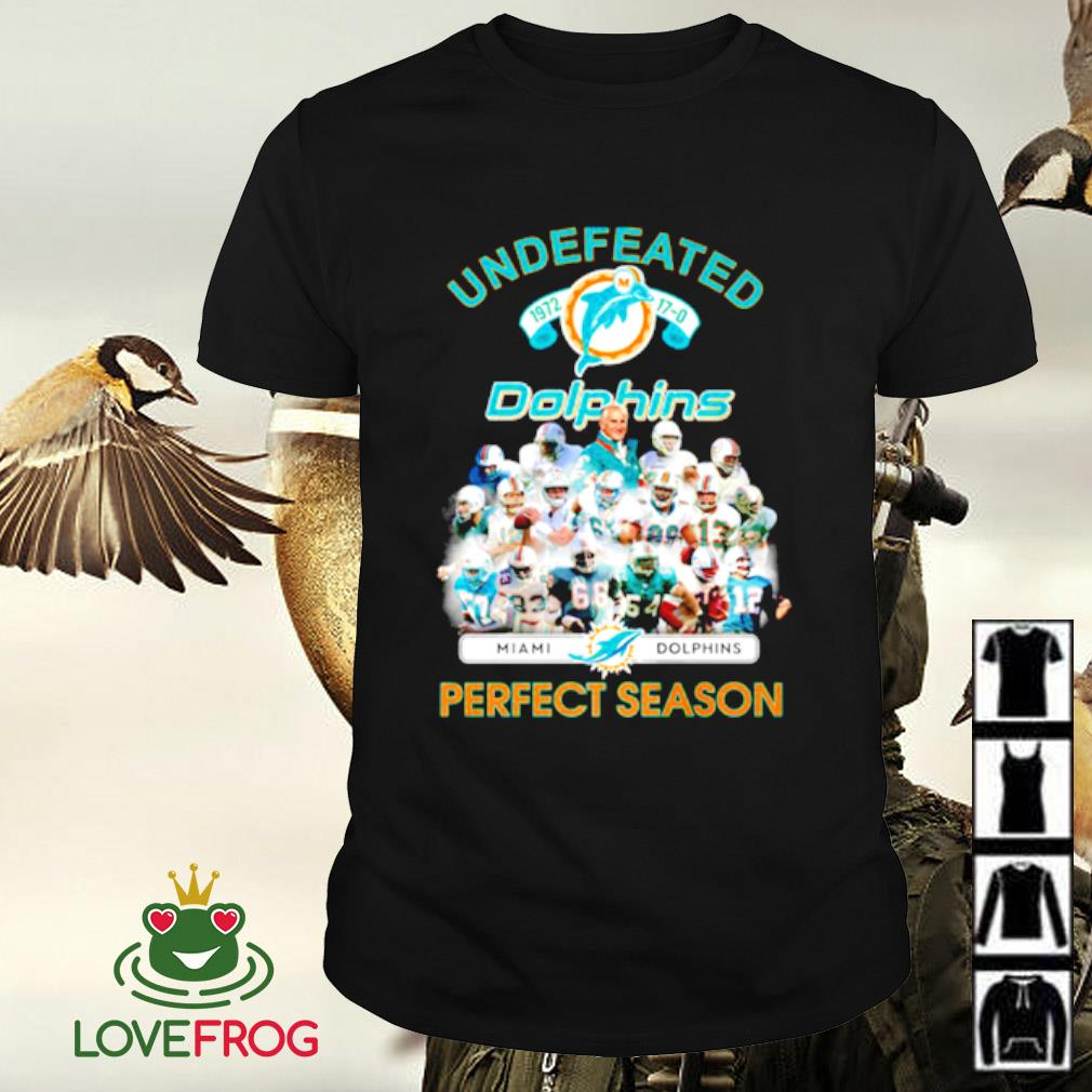 Undefeated Miami Dolphins 1972 perfect season shirt
