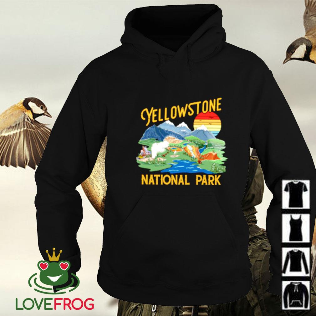 Yellow stone national park Hoodie