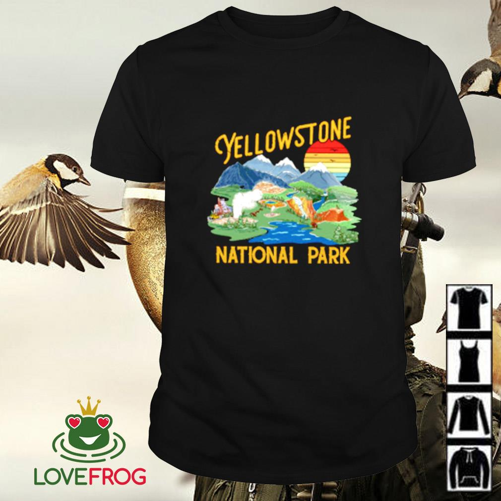 Yellow stone national park shirt