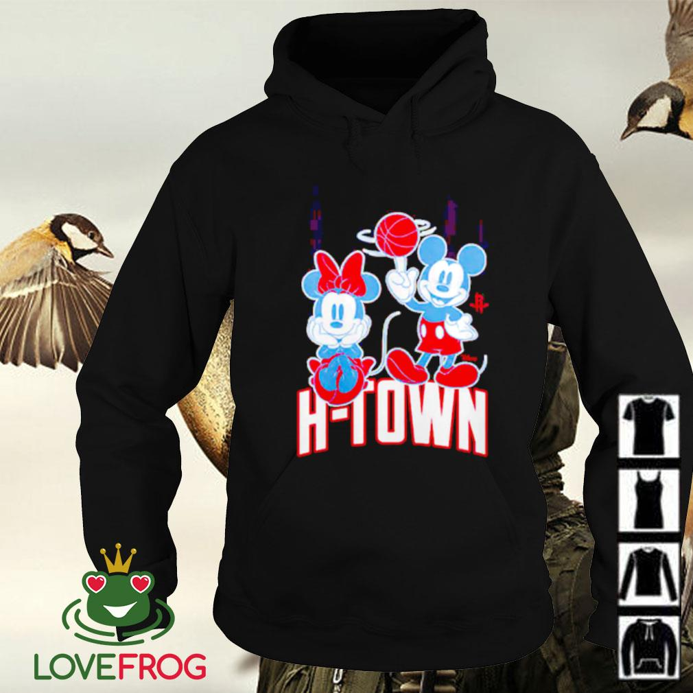 Houston Rockets Disney Mickey and Minnie Mouse Hoodie