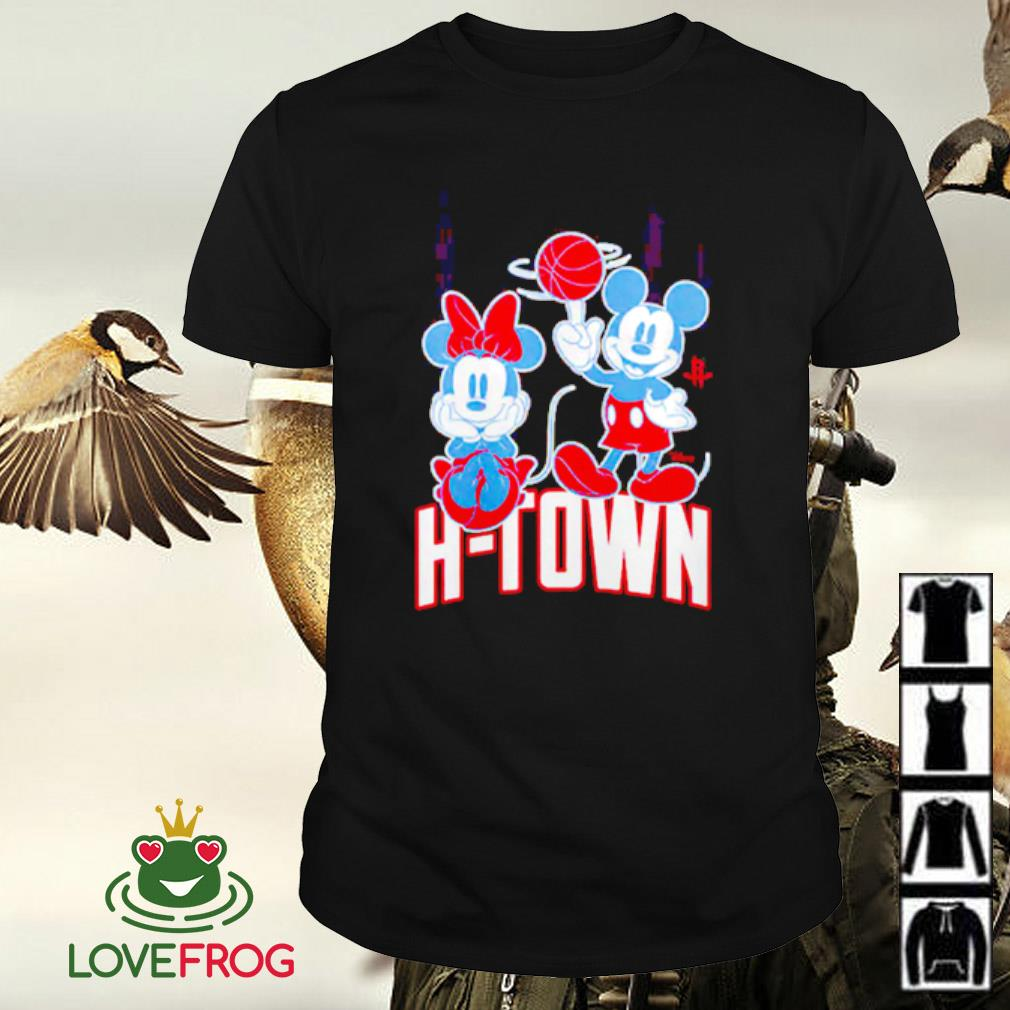 Houston Rockets Disney Mickey and Minnie Mouse shirt