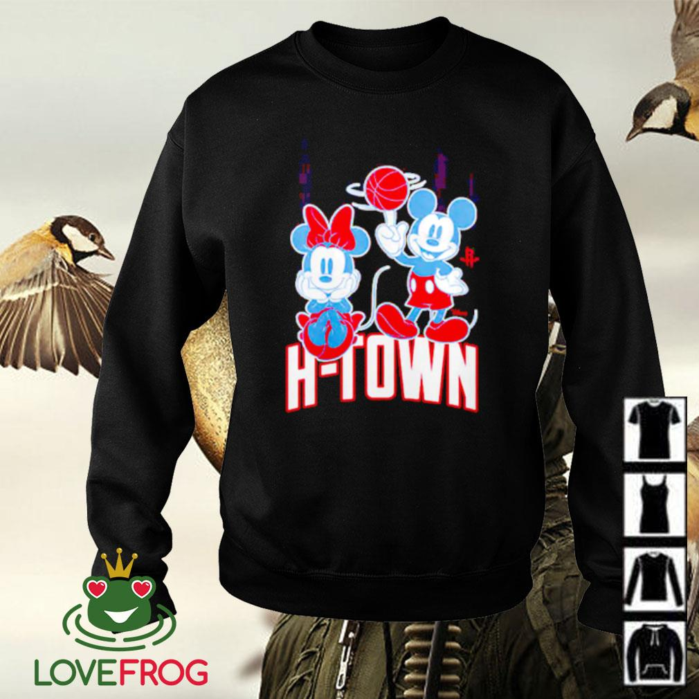 Houston Rockets Disney Mickey and Minnie Mouse Sweater