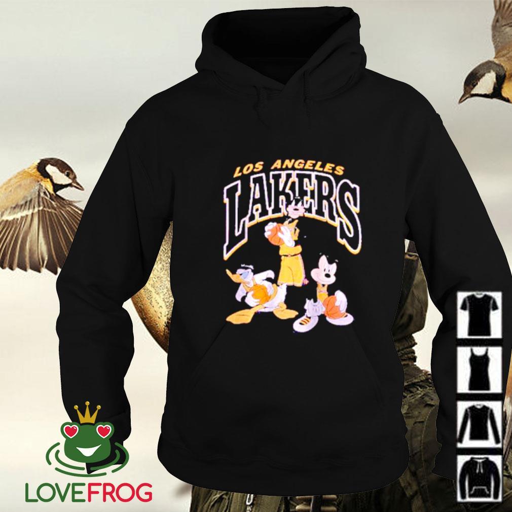 Los Angeles Lakers Disney mickey squad Hoodie