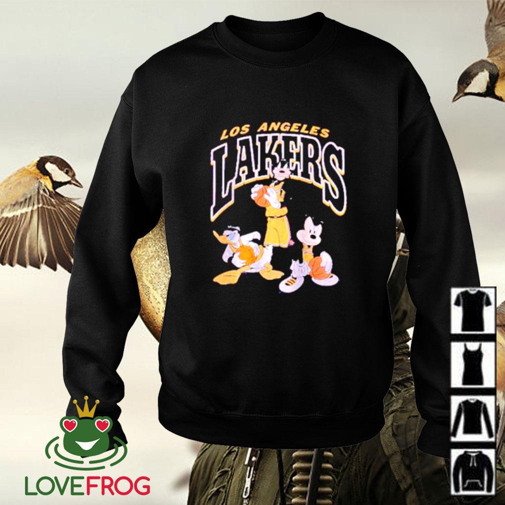 Los Angeles Lakers Disney mickey squad Sweater