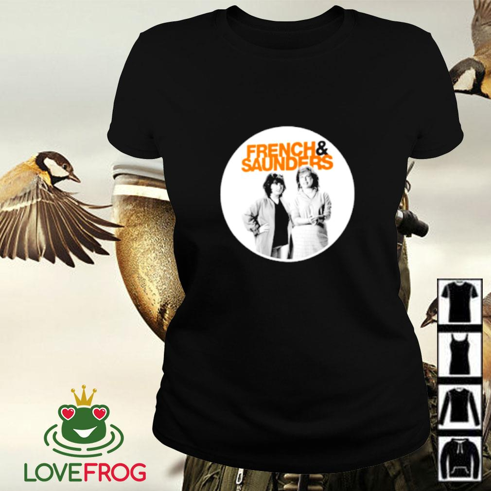 French and Saunders Ladies-tee