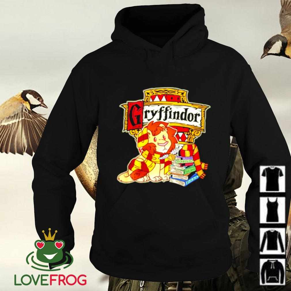 Gryffindor Lion and book Hoodie