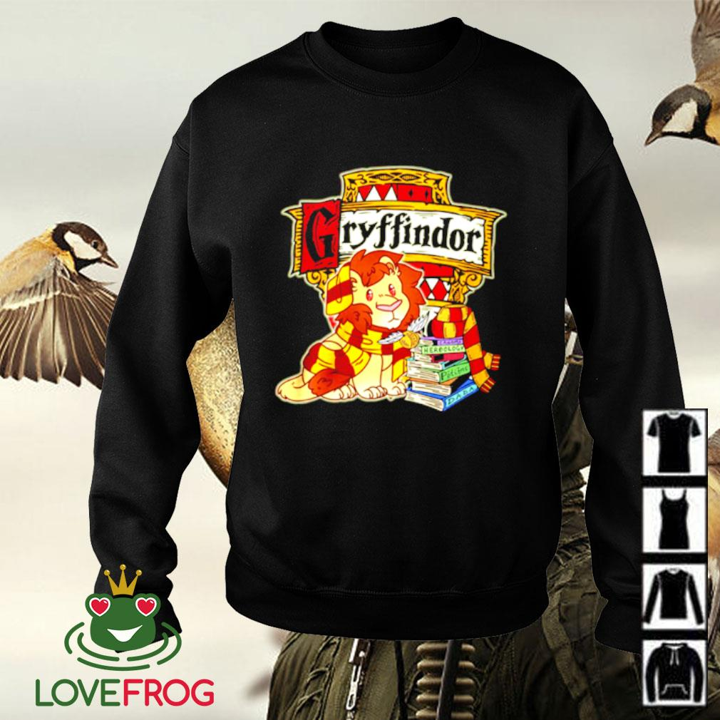 Gryffindor Lion and book Sweater
