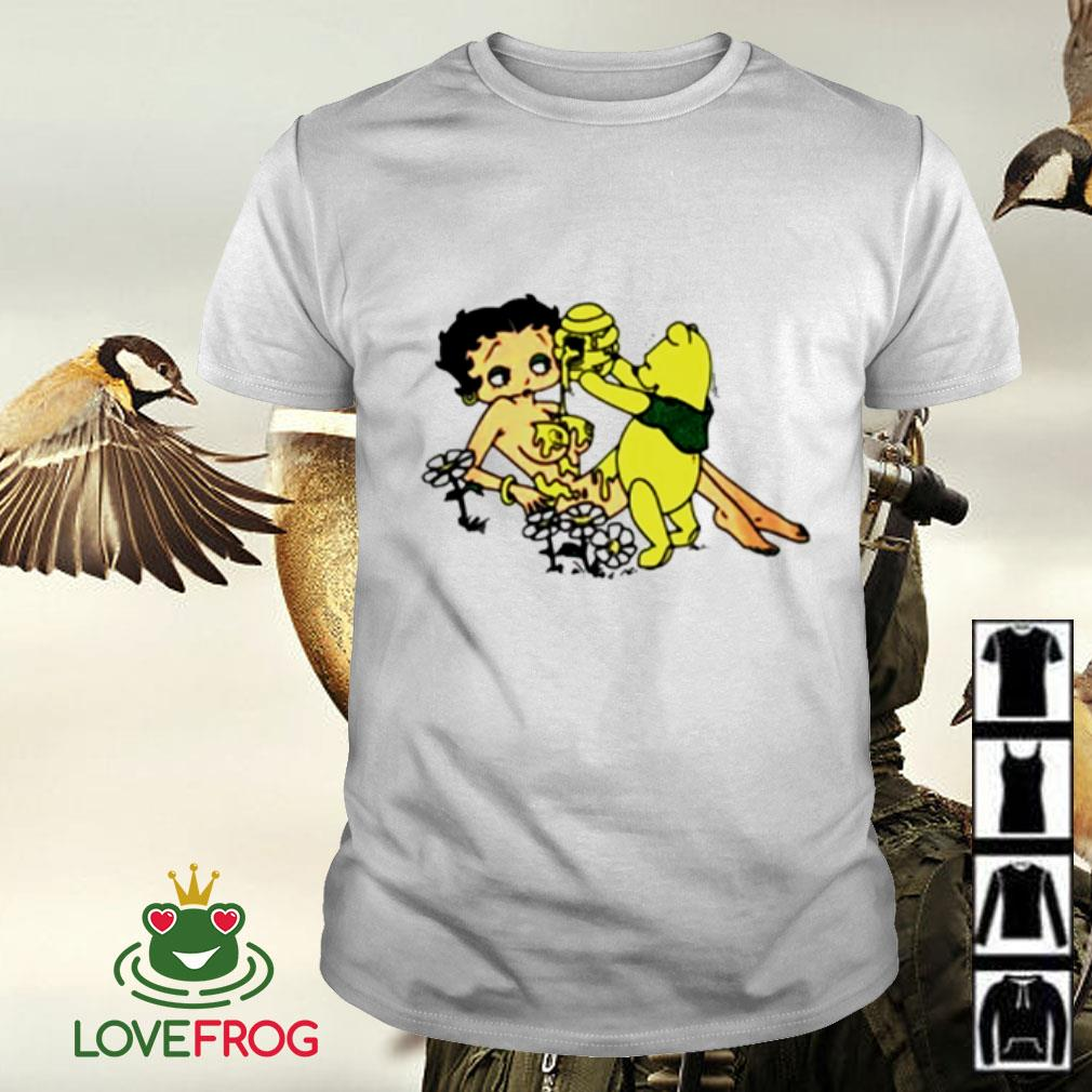 Honey Betty Boop and Pooh bear shirt