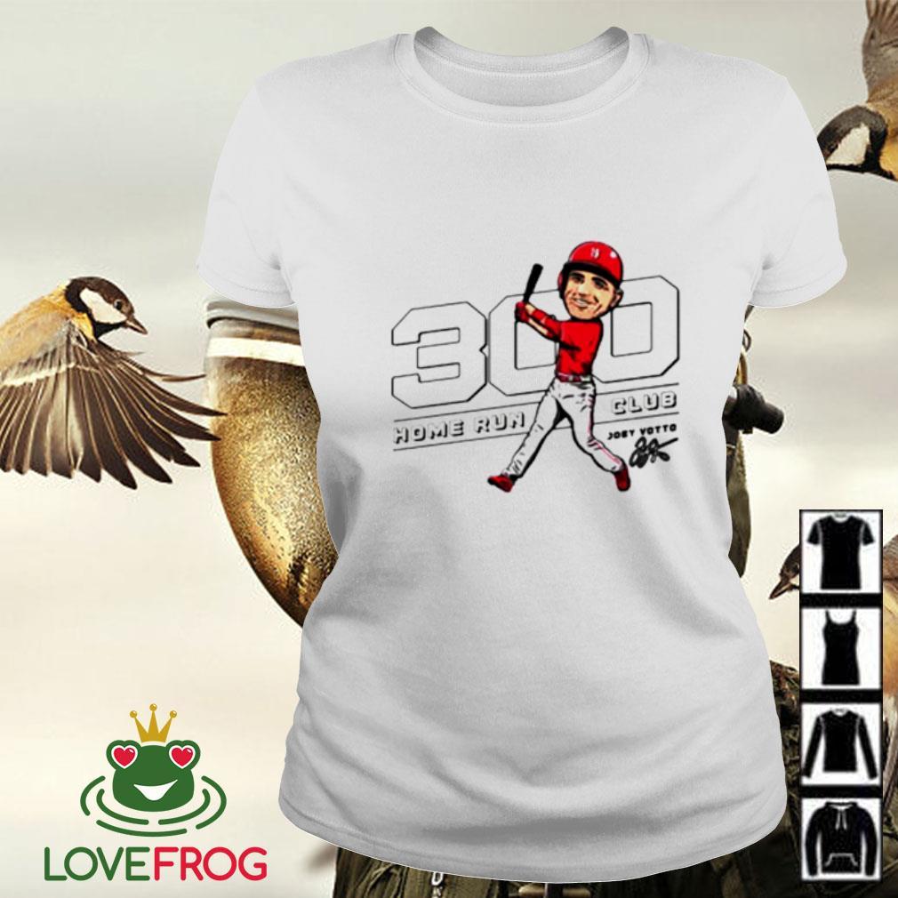 Joey Votto 300 home run club Ladies-tee