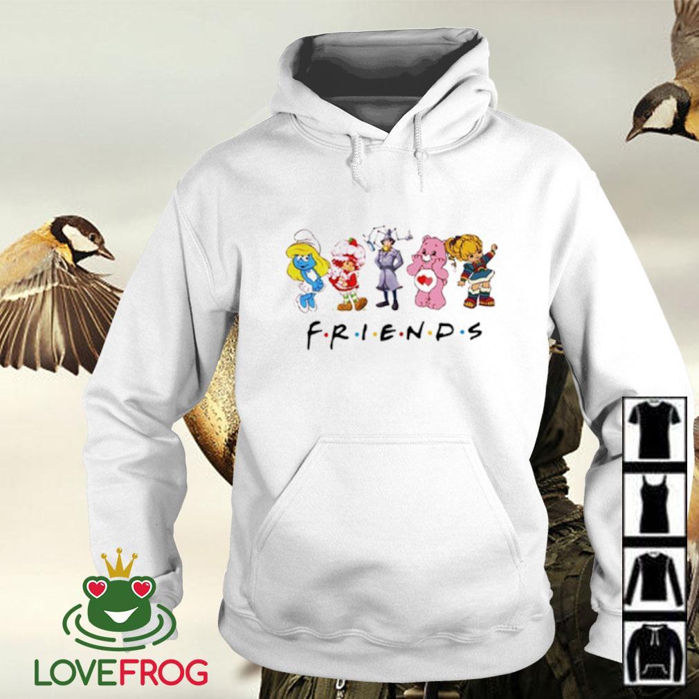 Rainbow Brite bear Sherlock Holmes Smurfs friends Hoodie