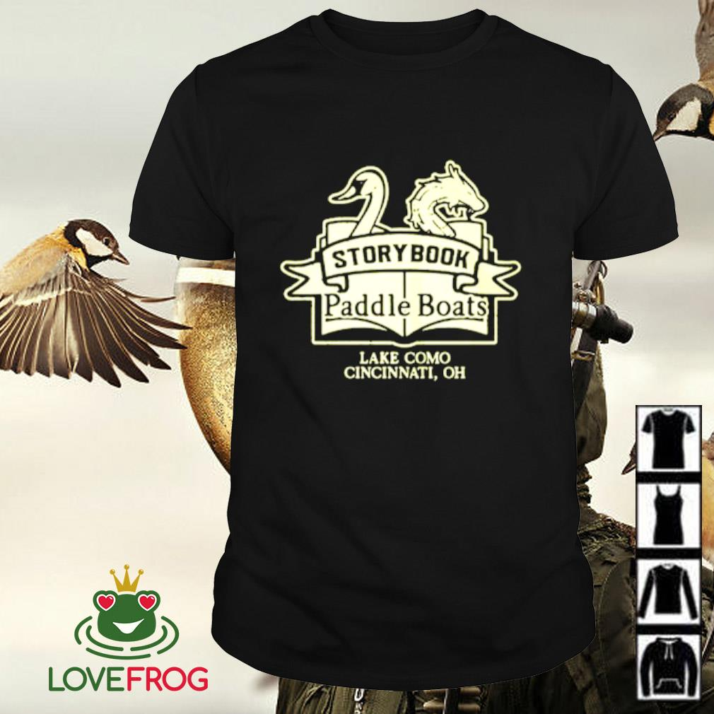 Storybook paddle boats shirt