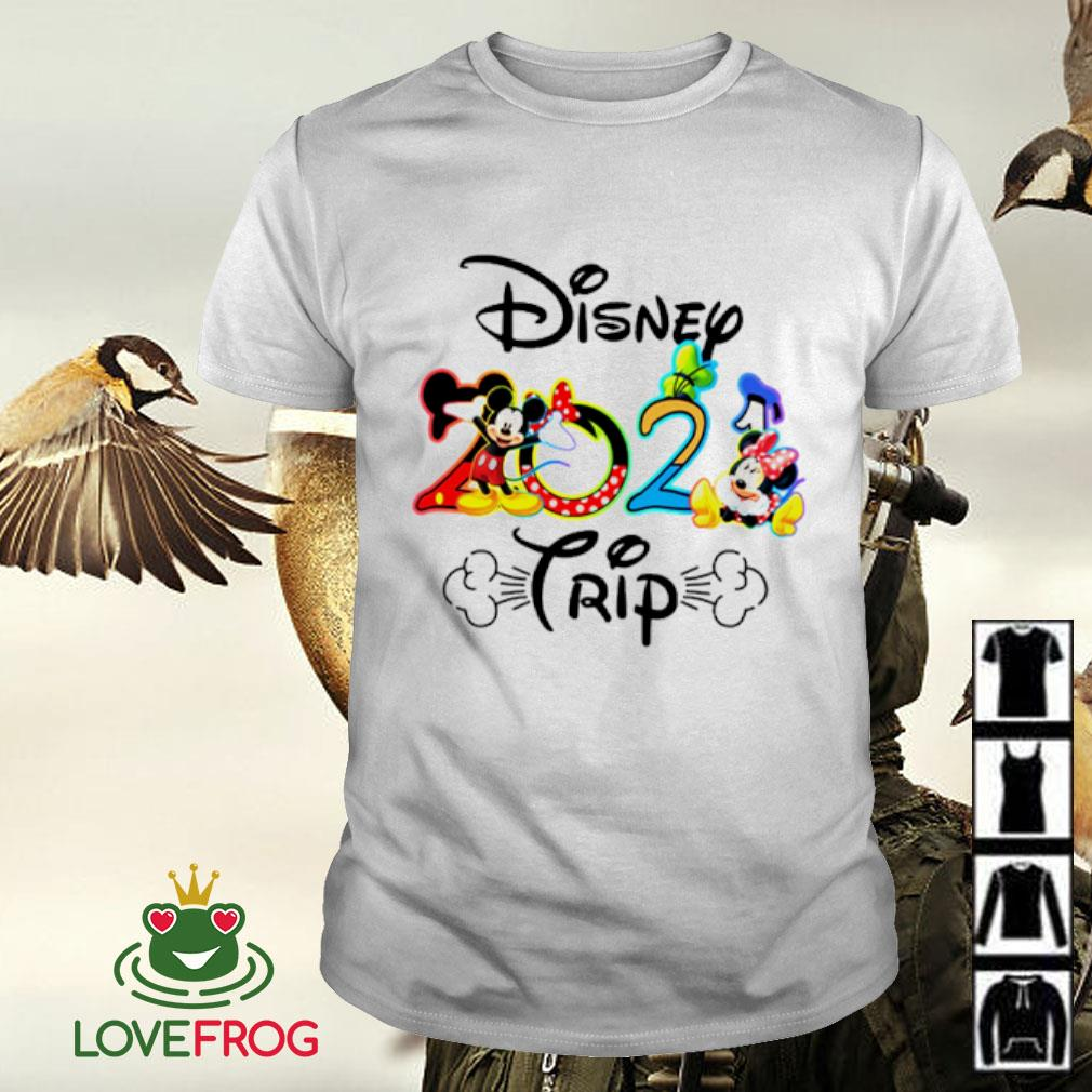 Mickey Disney 2021 trip shirt