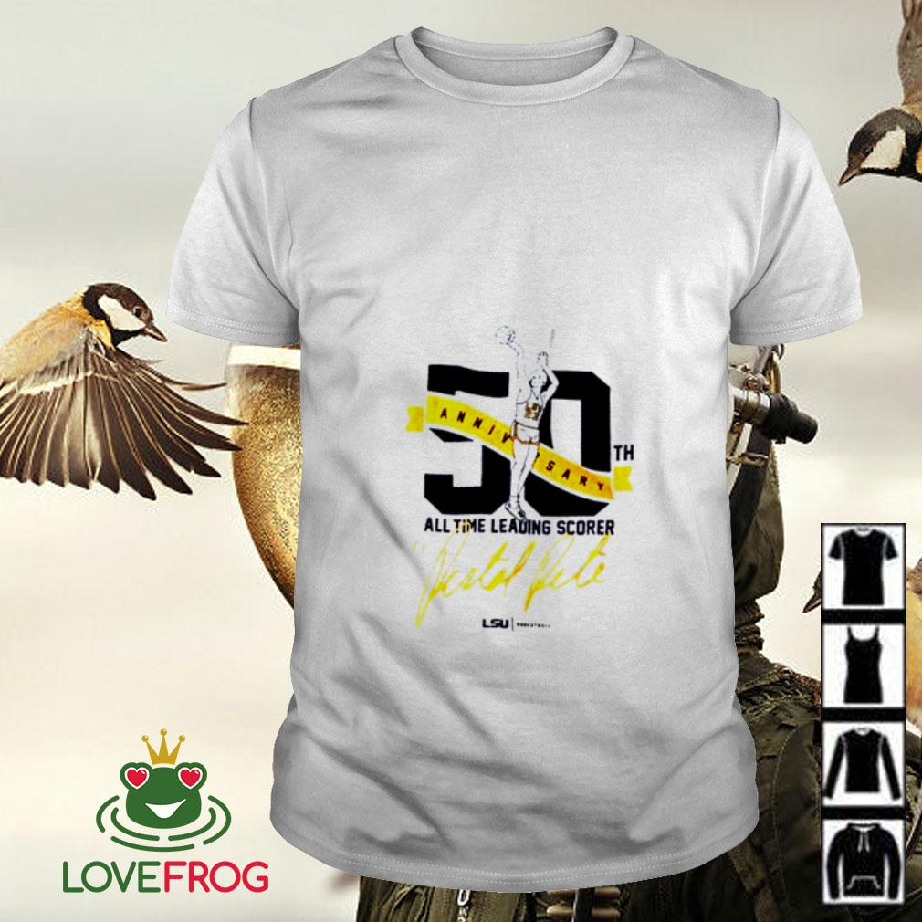 50th anniversary all the leading scorer shirt