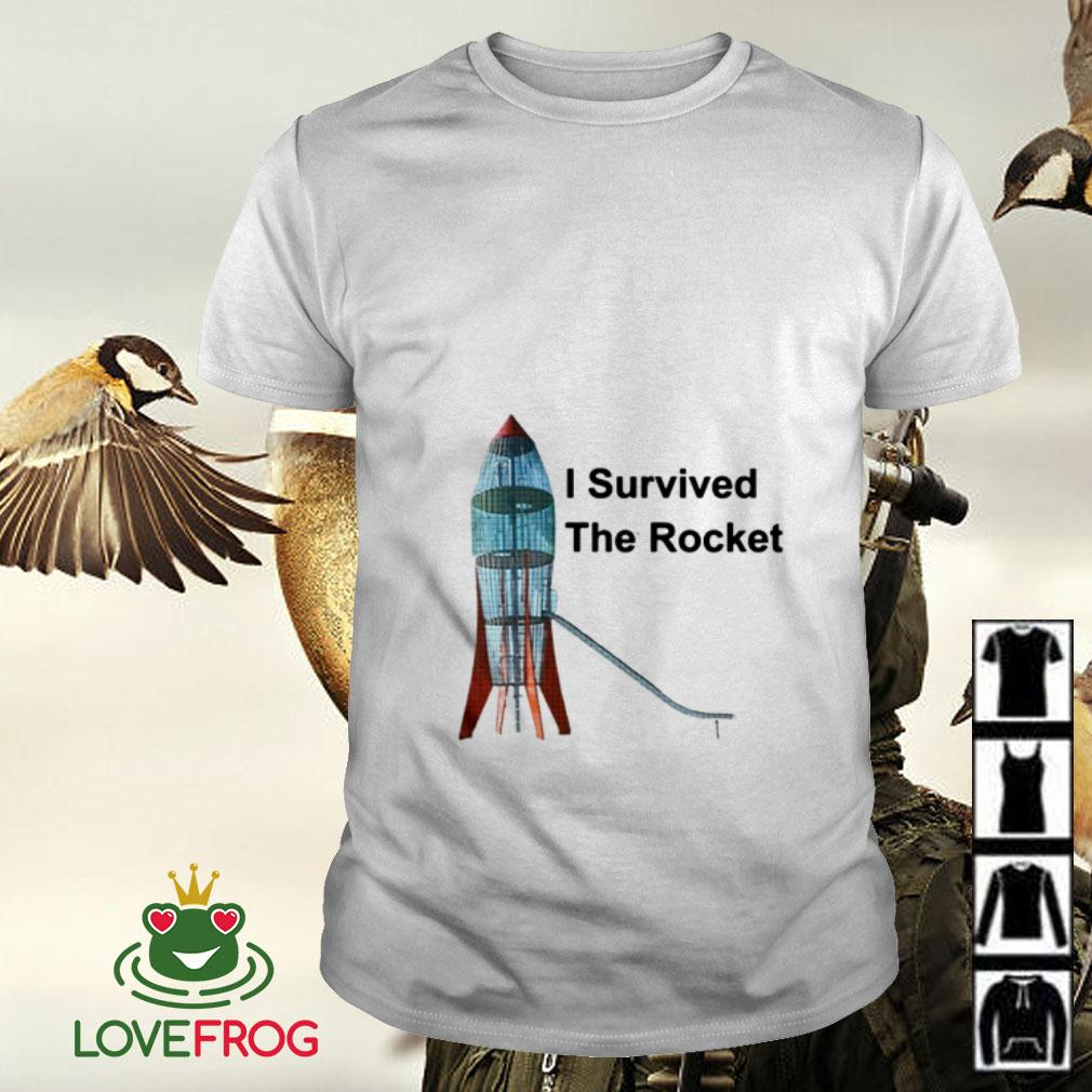 I survived the rocket shirt