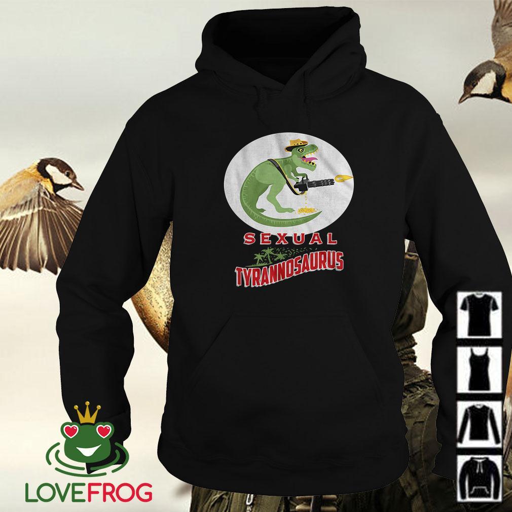 Sexual Tyrannosaurus Logo Predator Hoodie