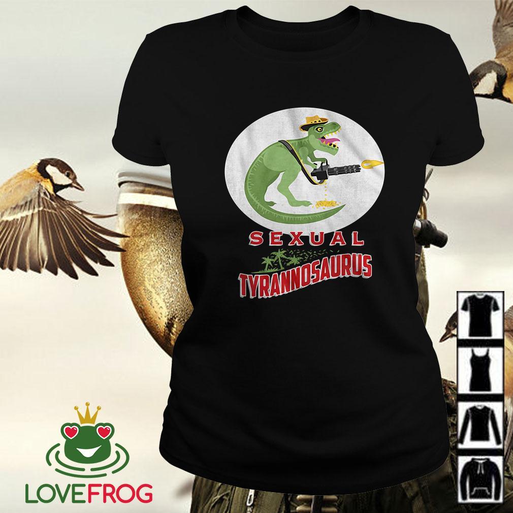 Sexual Tyrannosaurus Logo Predator Ladies tee