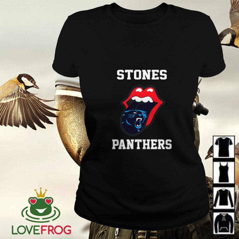 The Rolling Stones Carolina Panthers Ladies tee
