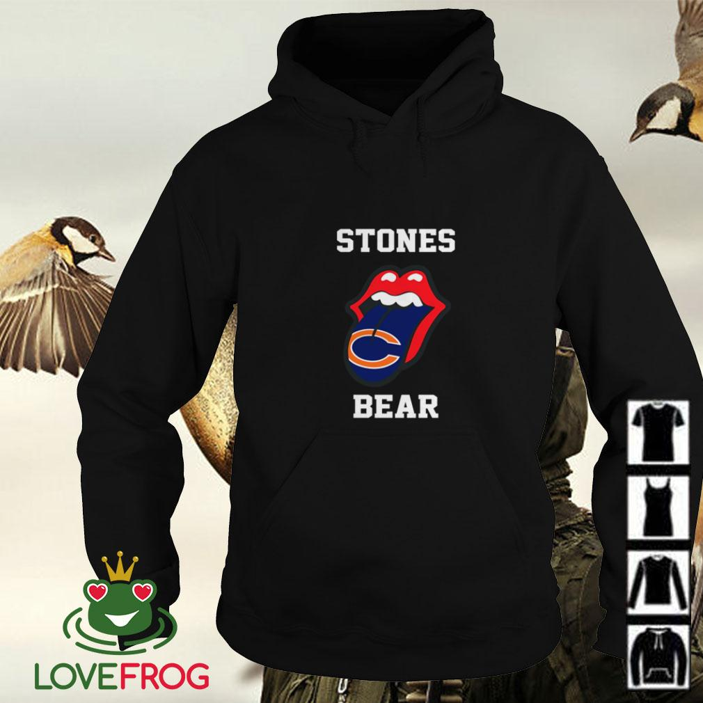 The Rolling Stones Chicago Bears Hoodie