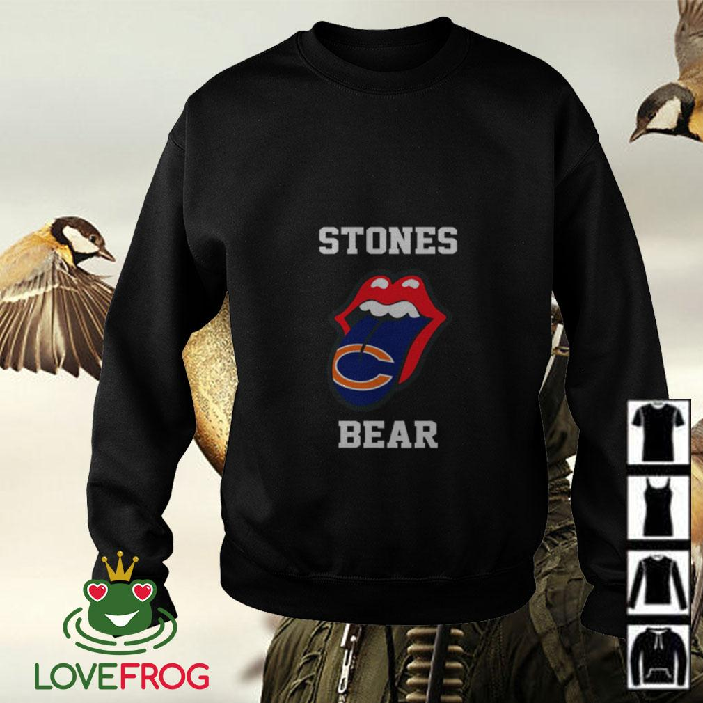 The Rolling Stones Chicago Bears Sweater