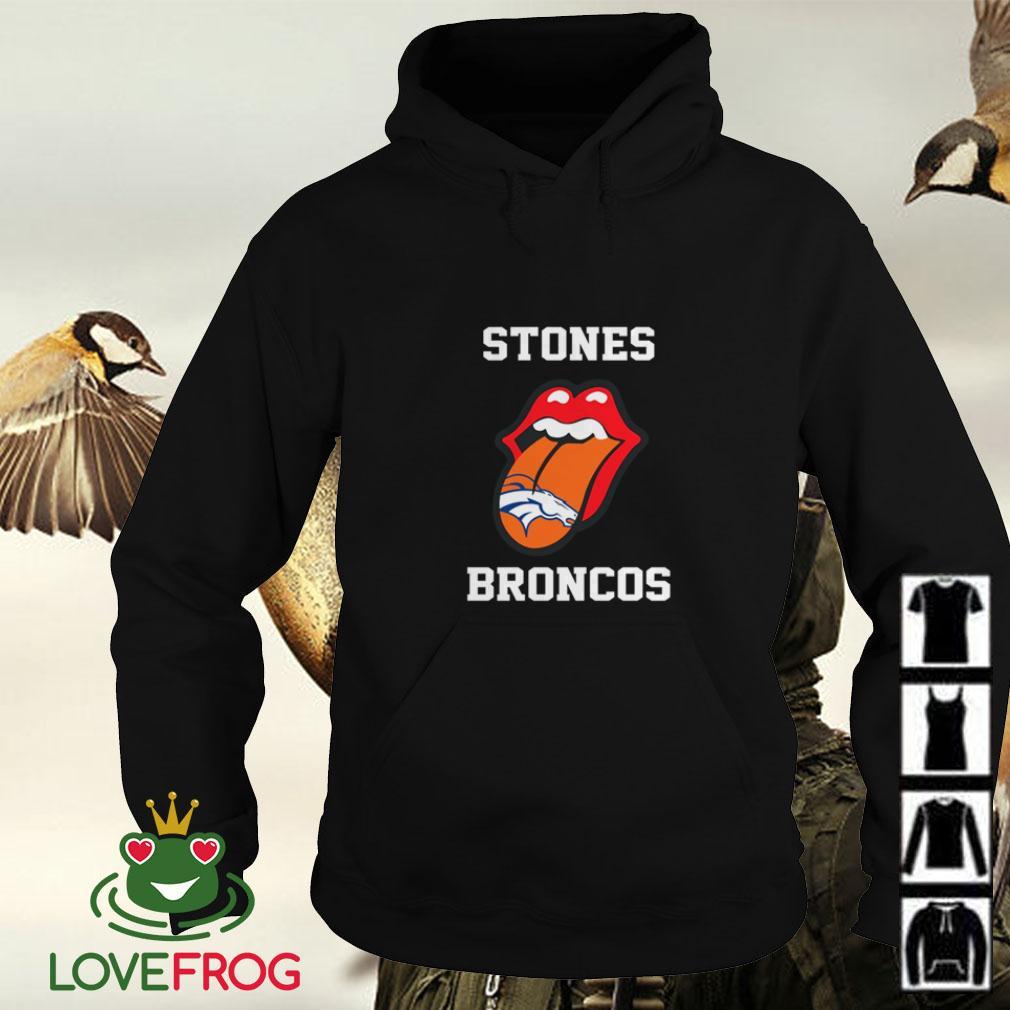 The Rolling Stones Denver Broncos Hoodie