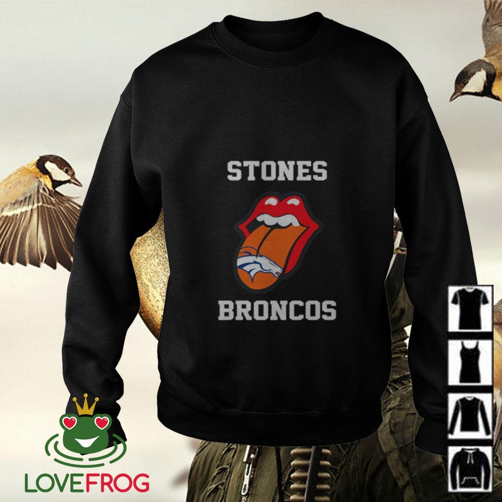 The Rolling Stones Denver Broncos Sweater