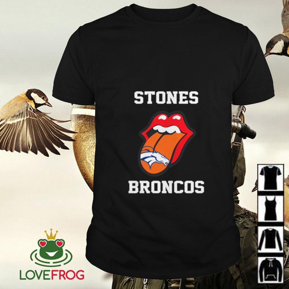 The Rolling Stones Denver Broncos shirt