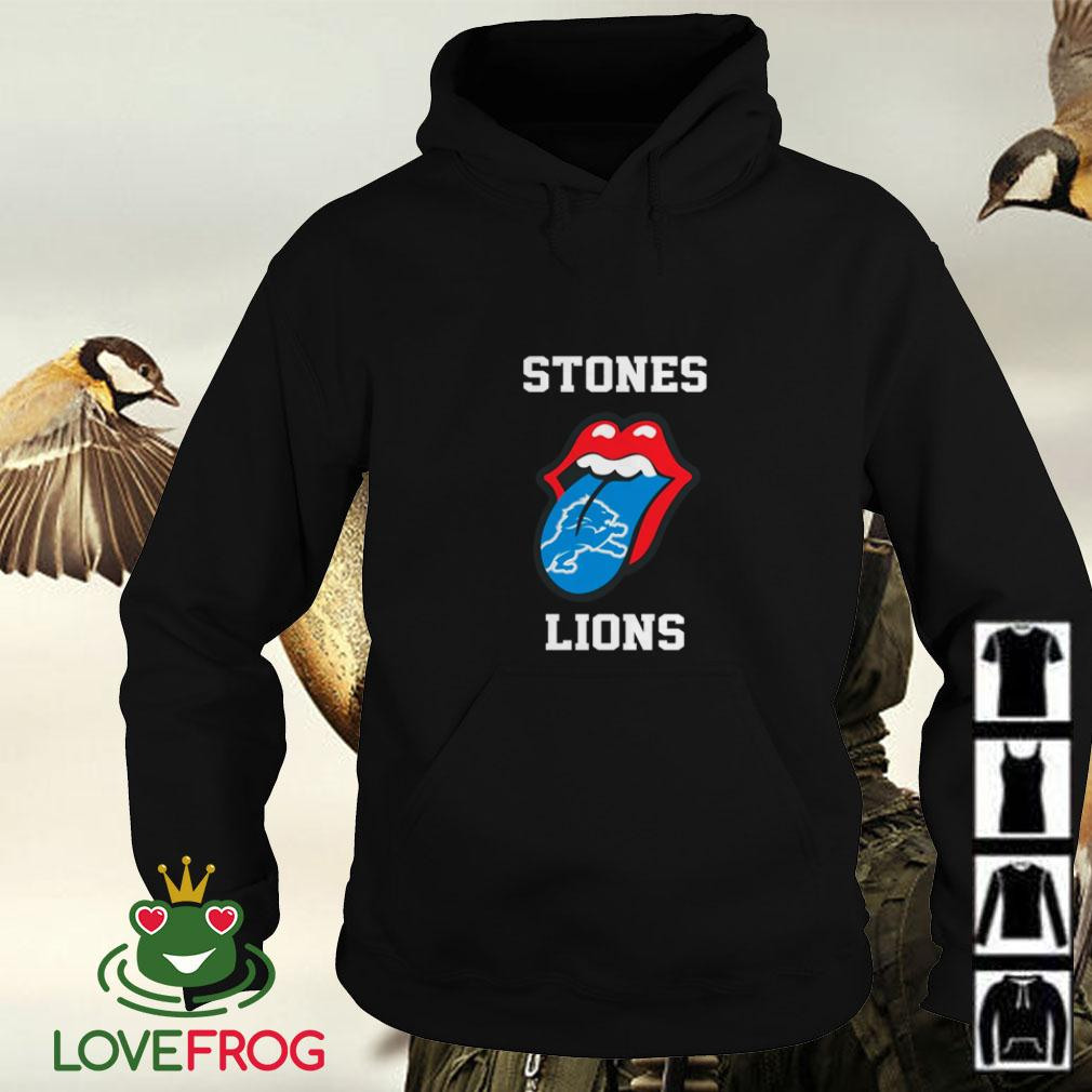 The Rolling Stones Detroit Lions Hoodie