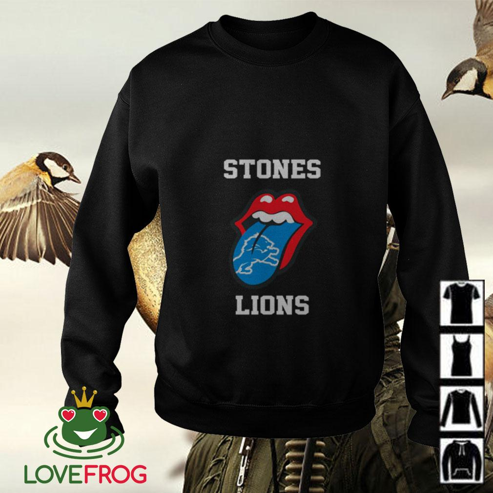The Rolling Stones Detroit Lions Sweater