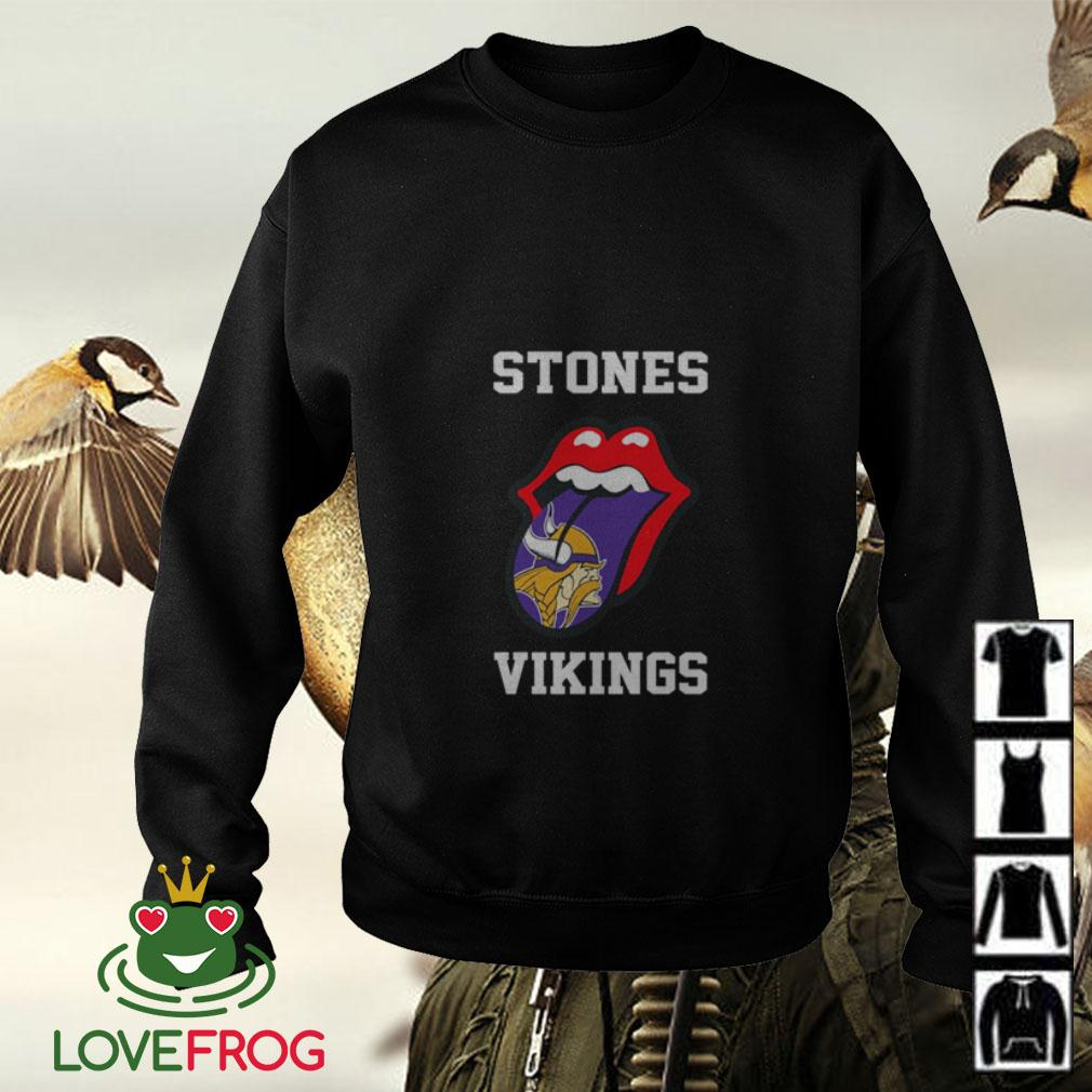 The Rolling Stones Minnesota Vikings Sweater