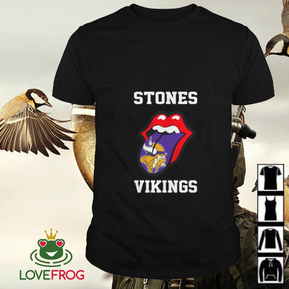 The Rolling Stones Minnesota Vikings shirt