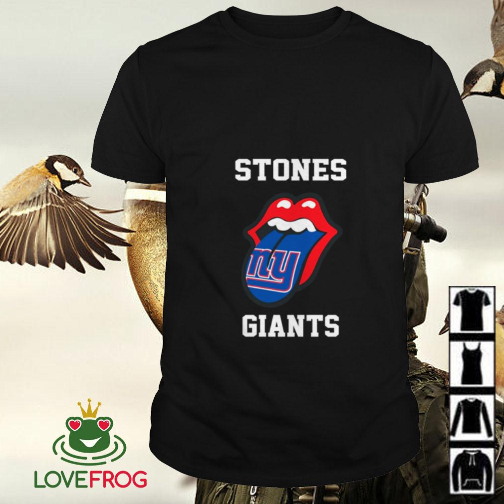 The Rolling Stones New York Giants shirt