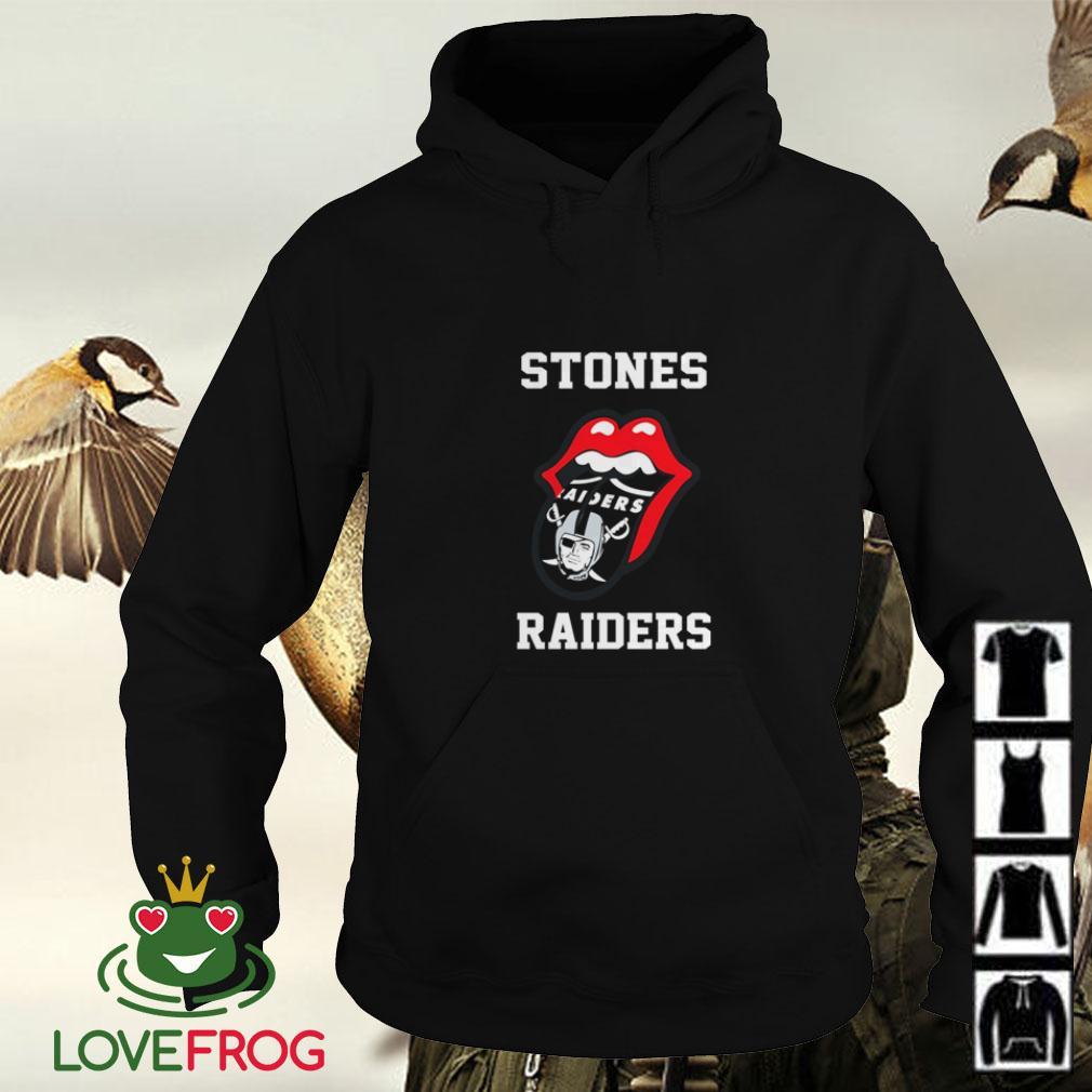 The Rolling Stones Oakland Raiders Hoodie