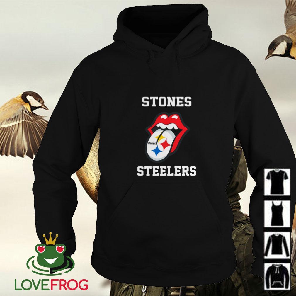 The Rolling Stones Pittsburgh Steelers Hoodie