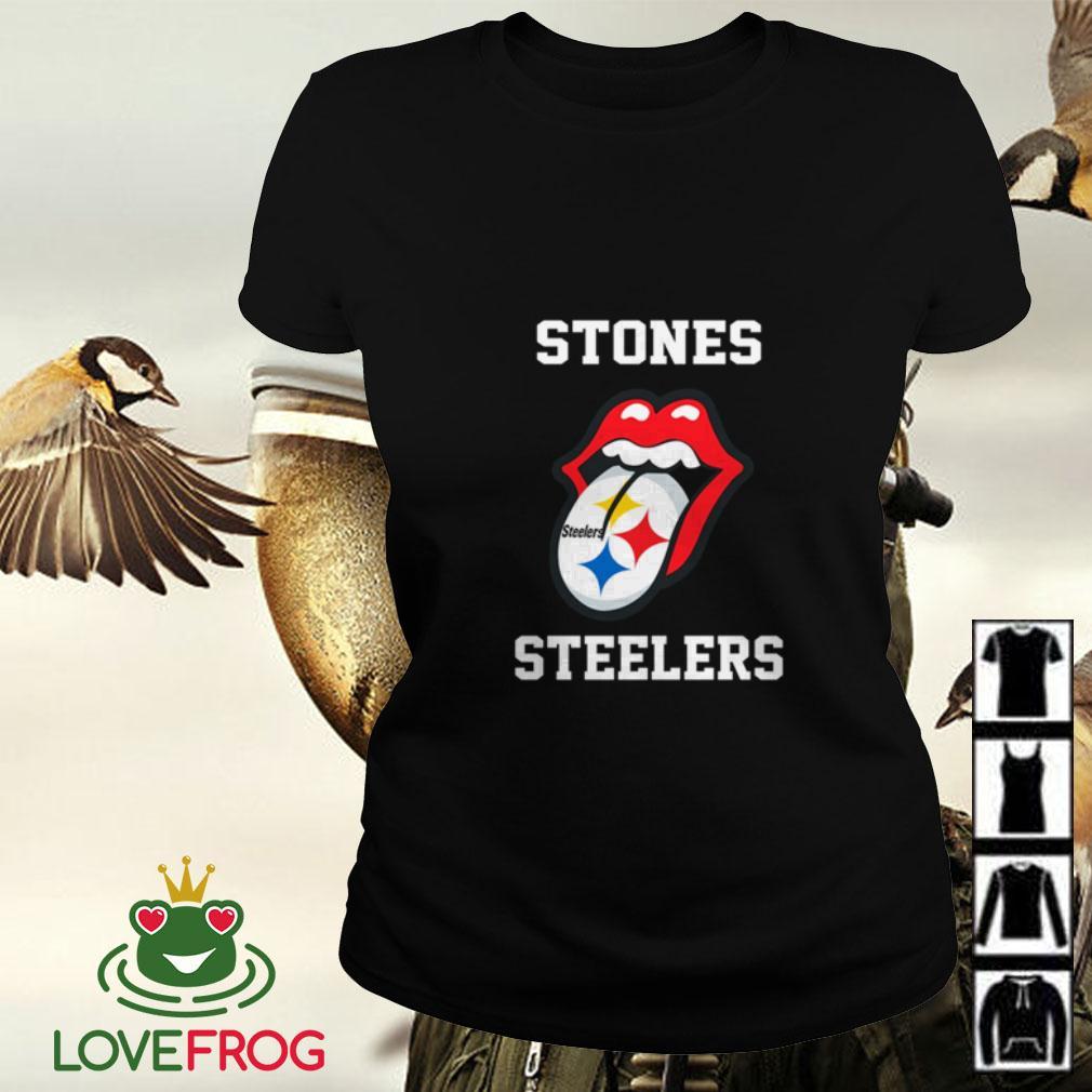 The Rolling Stones Pittsburgh Steelers Ladies tee