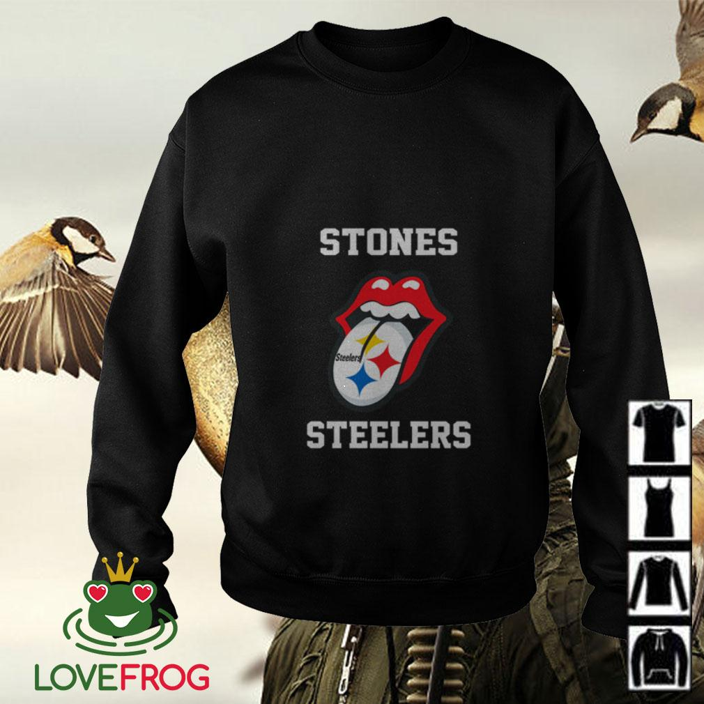 The Rolling Stones Pittsburgh Steelers Sweater