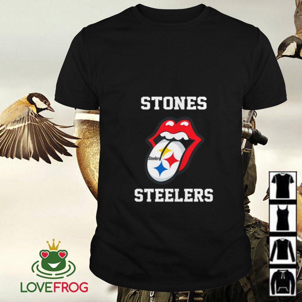 The Rolling Stones Pittsburgh Steelers shirt