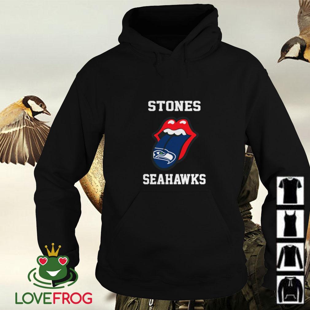 The Rolling Stones Seattle Seahawks Hoodie