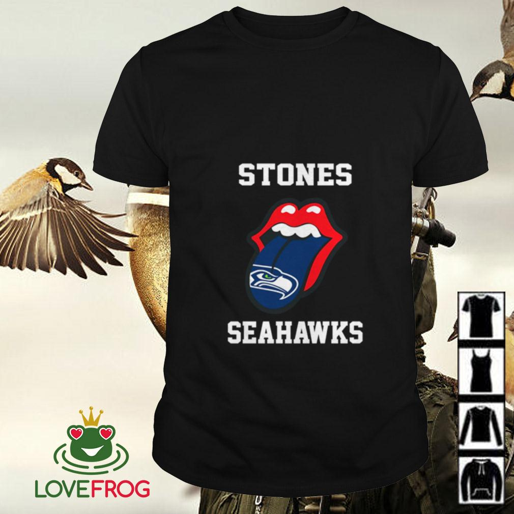 The Rolling Stones Seattle Seahawks shirt